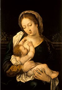 Bernard van Orley - Madonna lactans.jpg