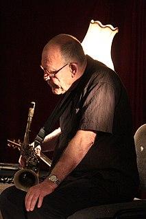 Bernie McGann Australian saxophonist