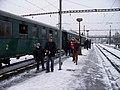 Beroun, Křivoklát expres (prosinec 2012), konec vlaku.jpg