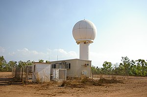 WSR-74 - WSR-74C Radar in Darwin, Northern Territory Australia