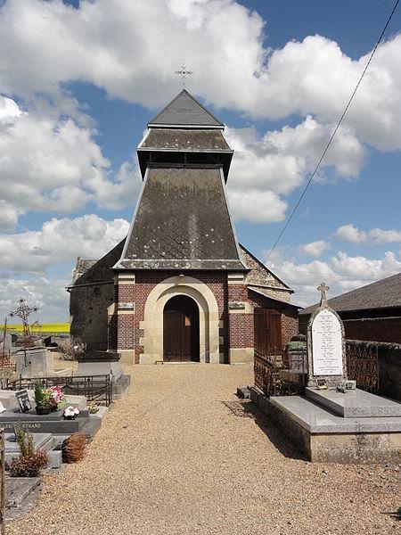 Bertaucourt-Epourdon (Aisne) église
