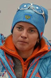 Svetlana Sleptsova Russian biathlete