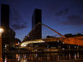 Bilbao Zubizuri bridge-Night view.jpg