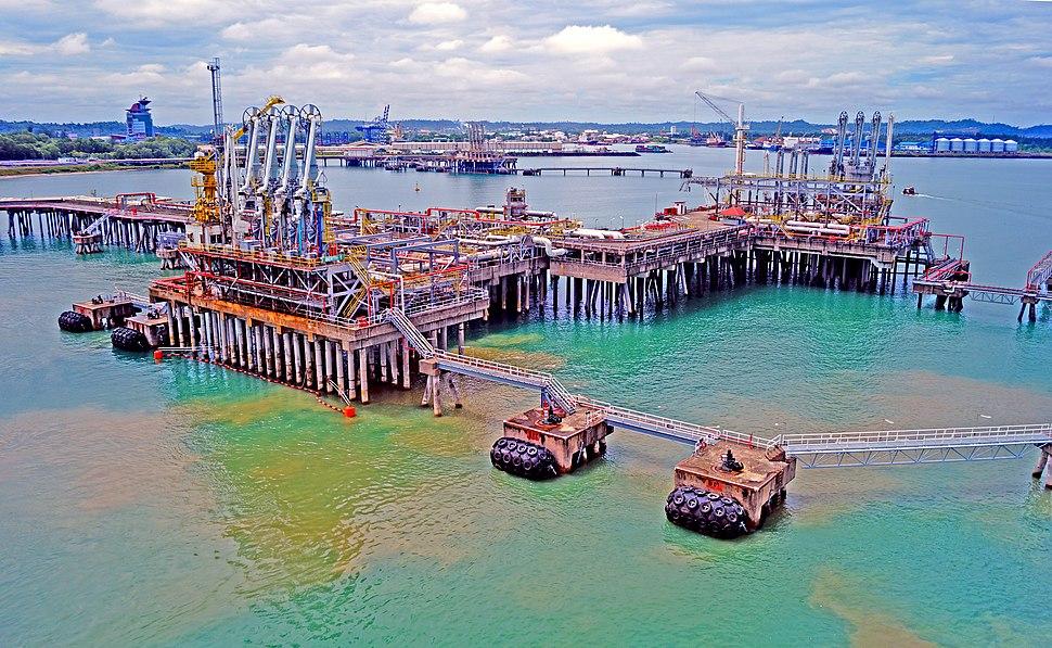 Bintulu LNG port
