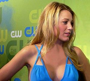 Blake Lively. kristin.eonline.com - CW Upfront...