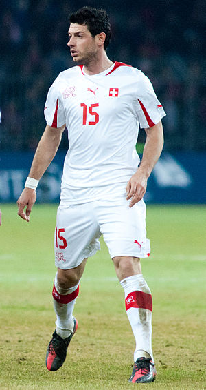 Blerim Džemaili - Džemaili playing for  Switzerland