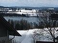Blick von der Kirche auf den Ellerazhofer Weiher - panoramio.jpg