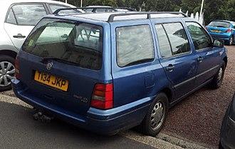 Volkswagen Golf Mk3 - Volkswagen Golf Variant