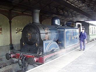 Bo'ness and Kinneil Railway - Image: Bo'ness Railway Station geograph.org.uk 1072827