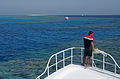Boat in the corals of Red Sea.jpg