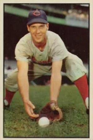 Bobby Adams - Image: Bobby Adams 1953bowman