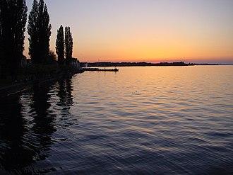 Rorschach, Switzerland - Lake Constance near Rorschach