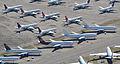 Boeing 757s & 767s - Pinal Air Park (13806379793).jpg