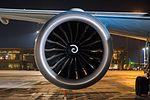 Boeing 787 Dreamliner at Riga Airport (32119235120).jpg
