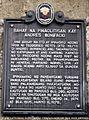 Bonifacio Trial House historical marker 1.jpg