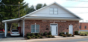Boonville, North Carolina - Boonville Police Station