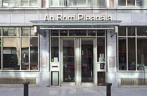 An Bord Pleanála - Headquarters in Marlborough Street, Dublin