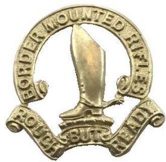 Natal Mounted Rifles - Border Mounted Rifles insignia