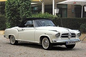 Borgward Isab Coupé Cabrio, Bj. 1957 (2014-08-31 6784).JPG