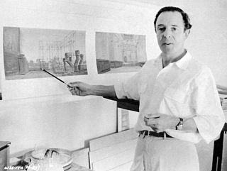 Boris Leven American art director and production designer