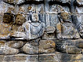 Borobudur - Lalitavistara - 108 E, The Gods prepare the Way to Rsipatana (detail 3) (11248853323).jpg