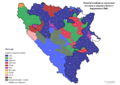 Bosnia and Herzegovina, municipal elections, 2000-sr.png