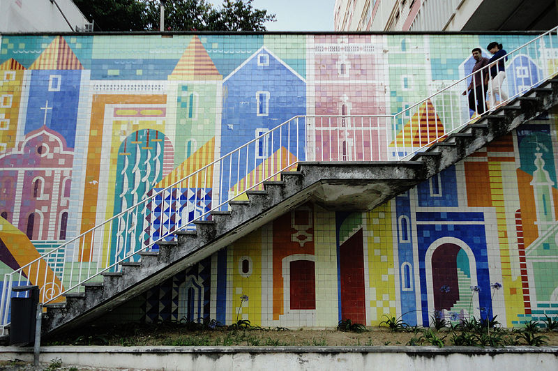 File:Botelho, Carlos, painel de azulejos, Av Infante Santo, Lisboa 3.jpg