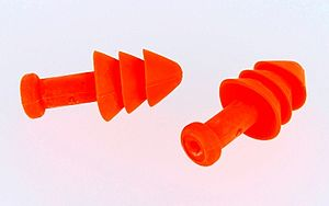 Noise - Earplugs can be used to protect the user's ears from loud noises.