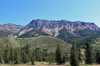 Boulder Mountains (Idaho) - Image: Boulder Mountains Idaho