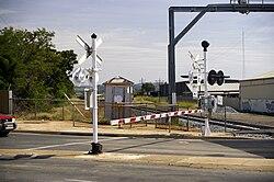 Boom barrier - Wikipedia