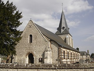 Bourneville, Eure part of Bourneville-Sainte-Croix in Normandy, France