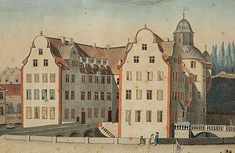 Hanau-Lichtenberg - Image: Bouxwiller chateau