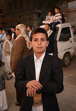 Boy in Sana'a, Yemen (14195518830).jpg