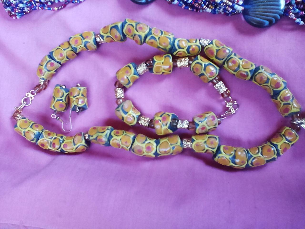 Collier et bracelet pour femme