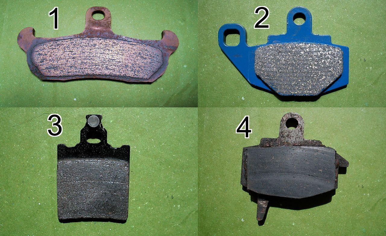 Metallic Brake Pads For Yamaha Road Star Silverado