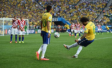 Brazil and Croatia match at the FIFA World Cup 2014-06-12 (03).jpg