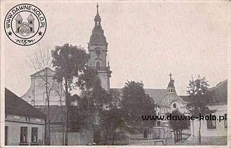 Brdów - Center of Brdów in 1934