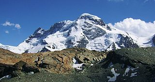 mountain of the Pennine Alps