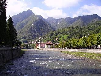 San Pellegrino Terme - Brembo River in San Pellegrino Terme