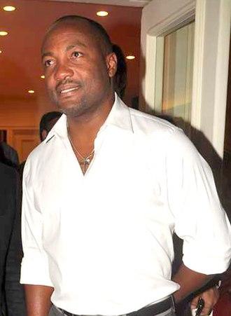 Brian Lara - Lara in 2012