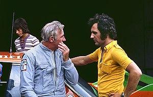 Toine Hezemans - Brian Muir and Toine Hezemans at Nürburgring in 1973