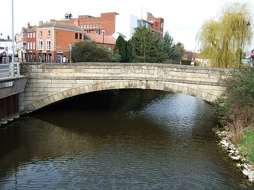 Bridge over the River Welland, Spalding (geograph 2318346)