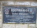 Bridge plaque - geograph.org.uk - 1725992.jpg