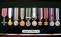 Brigadier Michael J. Sheehan CBE., Campaign Medals.jpg