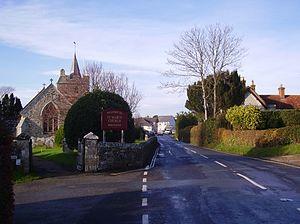 Brighstone - Image: Brighstone, IW, UK