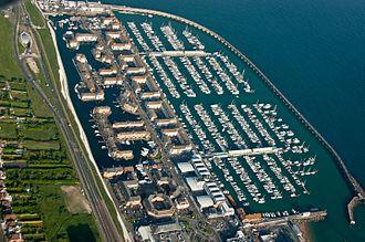Brighton Marina - Brighton Marina from the air
