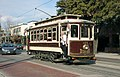 Brill car 122 on McKinney Ave trolley line (2011).jpg