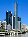 Brisbane Quarter and The One topped out, Brisbane, March 2021, 02.jpg