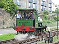 Bristol Harbour Railway - Teddy in Buttery Sidings.JPG