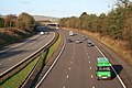 Broadclyst, the M5 Motorway - geograph.org.uk - 104293.jpg